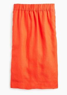 J.Crew Pull-on linen skirt