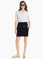 J.Crew Pull-on mini skirt with patch pockets