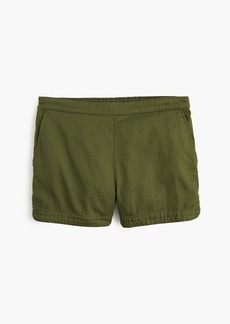 J.Crew Pull-on short in cotton twill