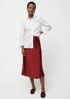 J.Crew Pull-on slip skirt