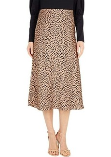 J.Crew Pull-On Slip Skirt in Wild Cheetah