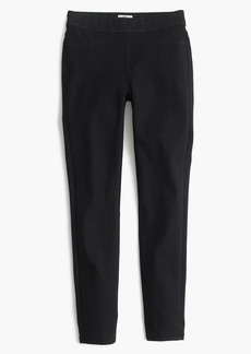 J.Crew Pull-on toothpick jean in black