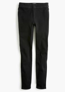 J.Crew Pull-on toothpick jean in black
