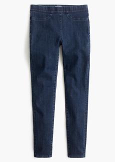 Pull-on toothpick jean in indigo