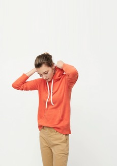 J.Crew Pullover hoodie in vintage cotton terry