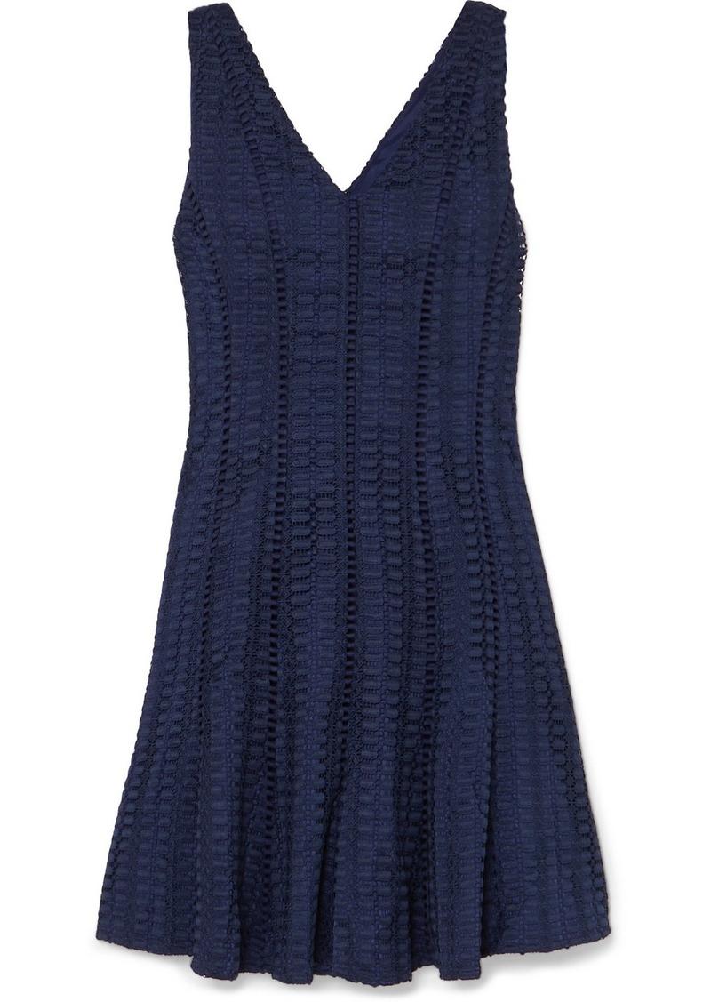 J.Crew Raeburn Embroidered Lace Mini Dress