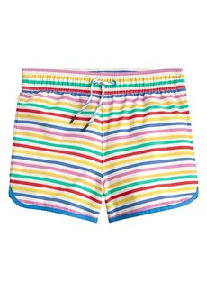 J.Crew Rainbow Stripe Pool Shorts (Toddler/Little Kids/Big Kids)