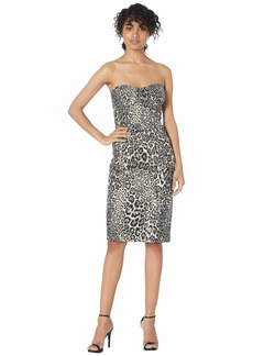 J.Crew Ratatouille Dress Mixy Leopard Jacquard