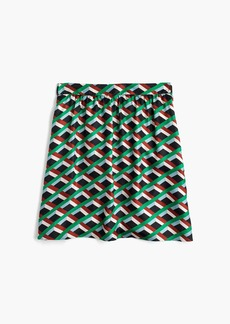 Ratti® graphic diamond print skirt