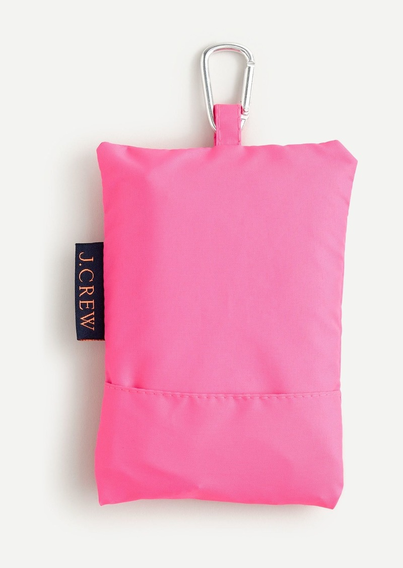 J.Crew Recycled reusable lightweight tote in pink