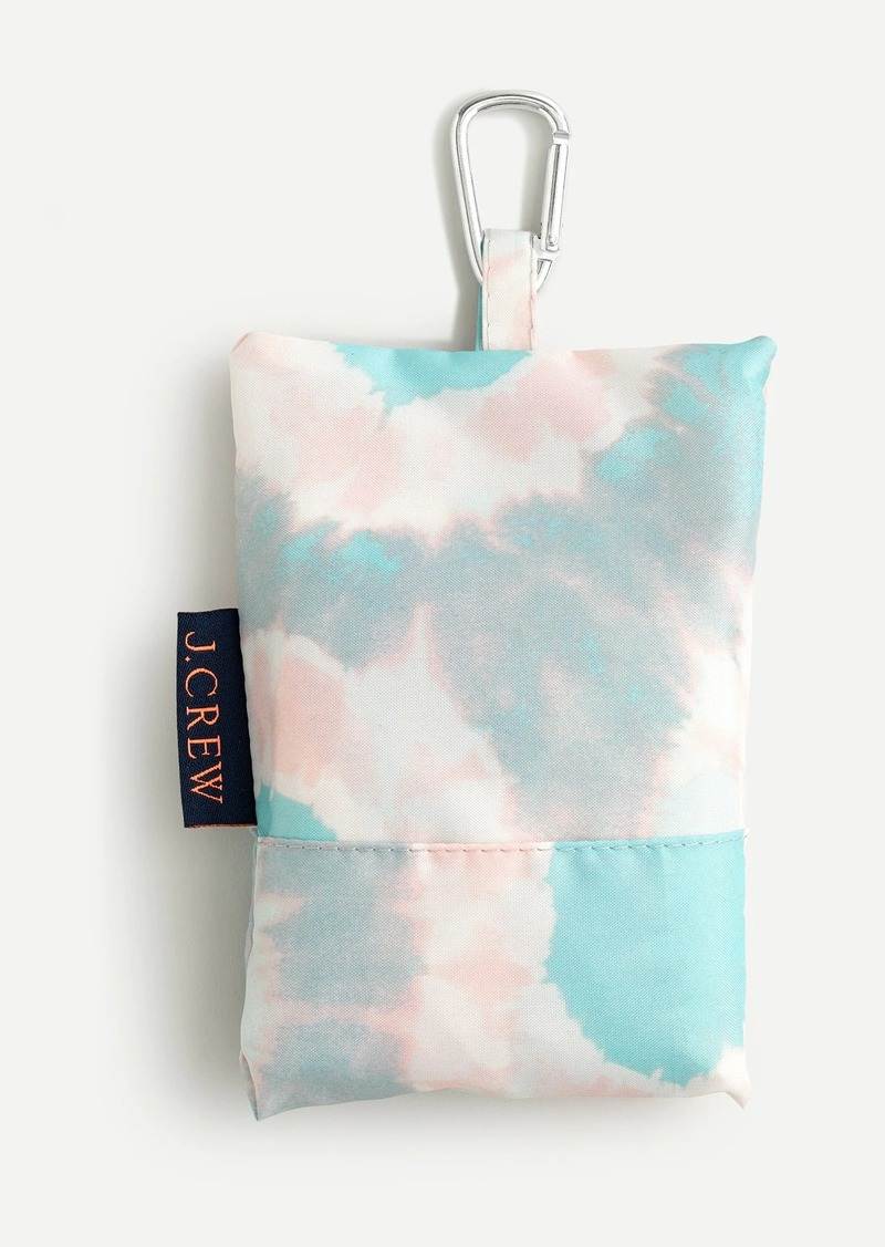 J.Crew Recycled reusable lightweight tote in tie-dye