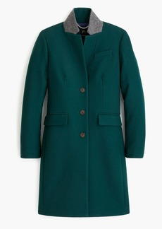 J.Crew Regent topcoat in double-serge wool