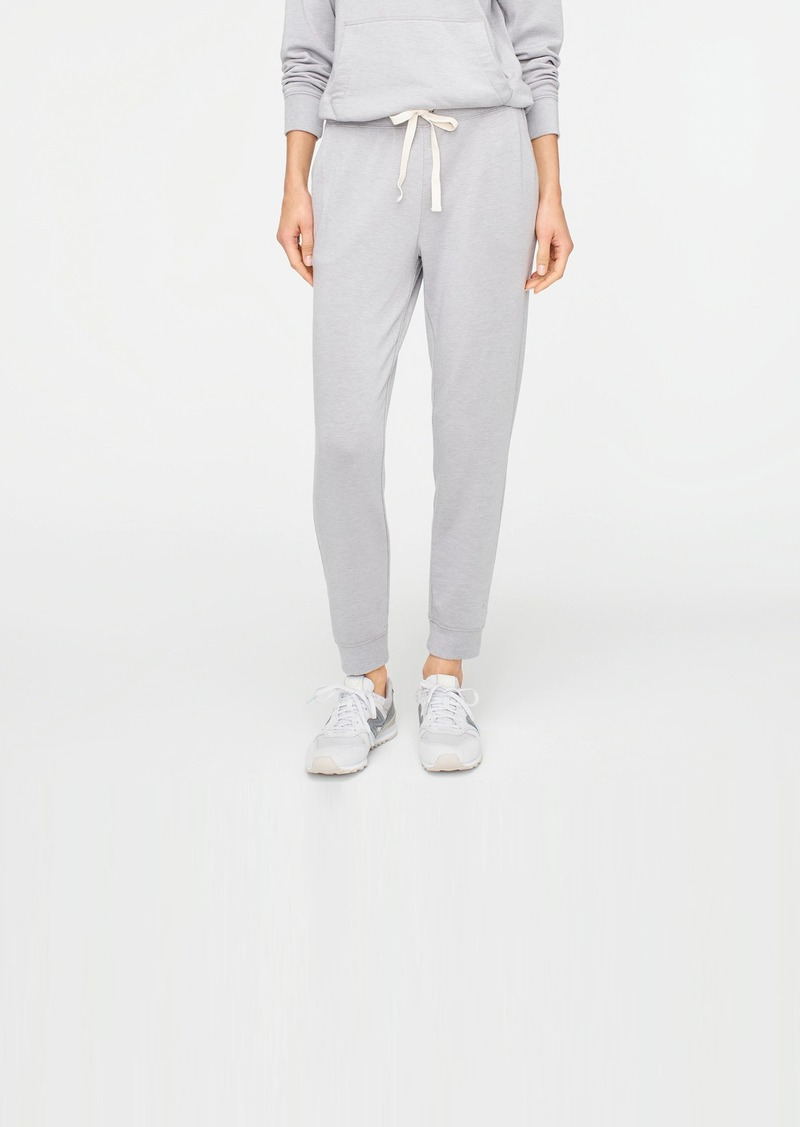 J.Crew Relaxed jogger pant in Cloud fleece