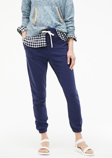 J.Crew Relaxed jogger pant in vintage cotton terry