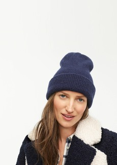 J.Crew Ribbed beanie in supersoft yarn