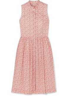 J.Crew Robin Ruffled Floral-print Cotton-poplin Dress