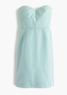 Rory strapless dress in classic faille