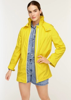 J.Crew Rubberized raincoat