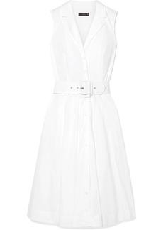 J.Crew Rudbeckia Belted Cotton-poplin Dress