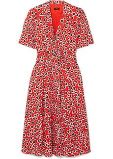 J.Crew Rudbeckia Printed Crepe Dress