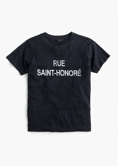 "J.Crew ""Rue Saint-Honoré"" graphic T-shirt"