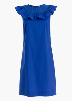 J.Crew Ruffle-neck dress