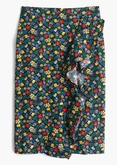 Ruffle skirt in Liberty® Edenham floral