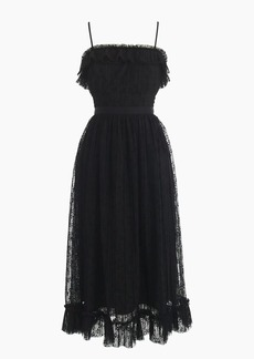 J.Crew Ruffly tulle dress