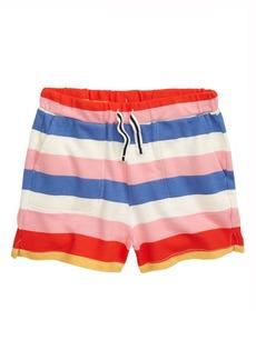J.Crew Rugby Stripe Pull-On Shorts (Toddler Girls, Little Girls & Big Girls)