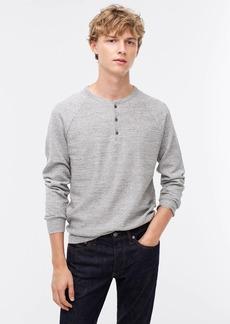 J.Crew Rugged cotton henley sweater