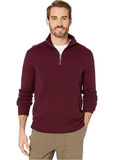 J.Crew Rugged Merino Wool Half-Zip Sweater