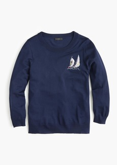 J.Crew Sailboat Tippi sweater in merino wool
