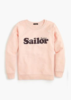 "J.Crew ""Sailor"" sweatshirt"