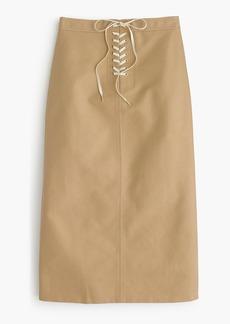 Sailor tie skirt