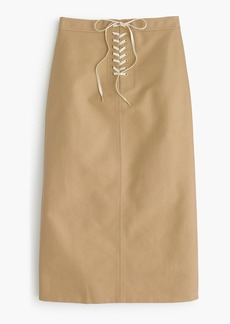 J.Crew Sailor tie skirt