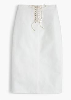 J.Crew Sailor tie skirt