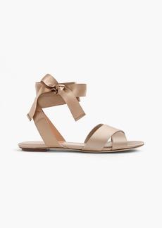 J.Crew Satin cross-strap sandals