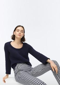 J.Crew Rolled scoopneck sweater