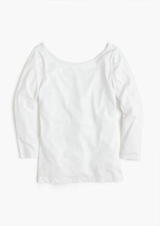J.Crew Scoopback ballet T-shirt