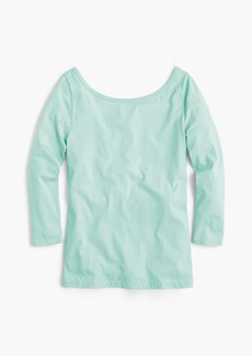J.Crew Scoopback ballet T-shirt