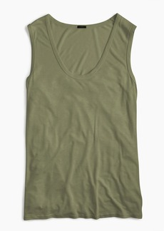J.Crew Scoopneck drapey tank top