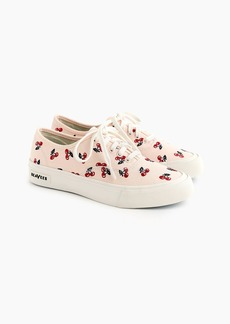 SeaVees® for J.Crew Legend sneakers with embroidered fruit