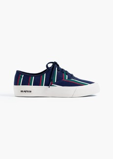 SeaVees® for J.Crew Legend sneakers in stripe