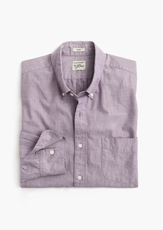 J.Crew Secret Wash shirt in end-on-end cotton