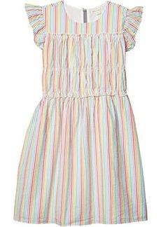 J.Crew Seersucker Dress (Toddler/Little Kids/Big Kids)