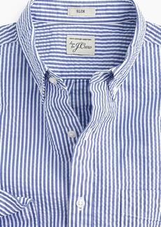 J.Crew Seersucker shirt in classic stripe