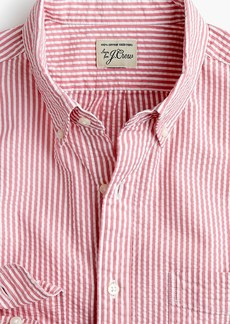 J.Crew Seersucker shirt in classic stripe