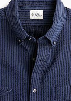 J.Crew Slim seersucker shirt in stripe