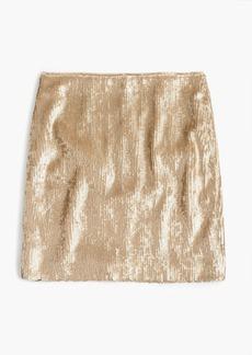 J.Crew Sequin mini skirt