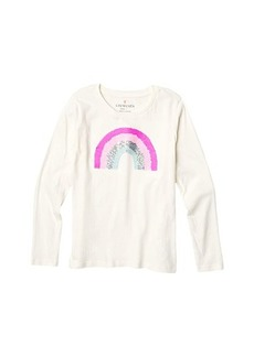 J.Crew Sequin Rainbow Tee (Little Kids/Big Kids)